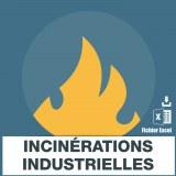 Emails services incinérations industrielles