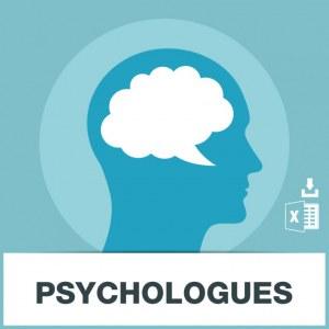Base d'adresses emails de psychologues