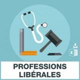 Adresses emails Professions Libérales