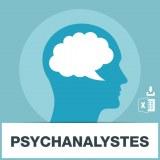 Base d'adresses emails des psychanalystes