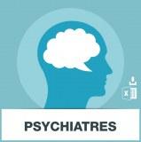 Base d'adresses emails de psychiatres