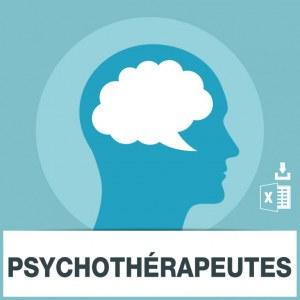 Base d'adresses emails des psychothérapeutes