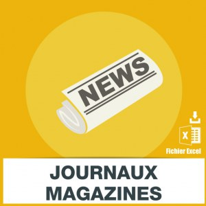 Emails vente de presse journaux magazines