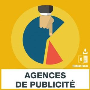 Adresses emails agences de publicité