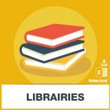 Base d'adresses emails de librairies