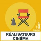 Emails réalisateurs cinéma