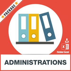 Base d'adresses emails d'administrations