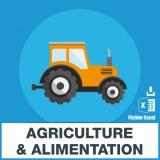 Agriculture - Alimentation
