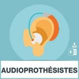 Emails audioprothésistes correction surdité