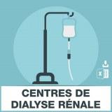 Emails des centres de dialyse rénale