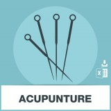 Adresses emails acupuncture
