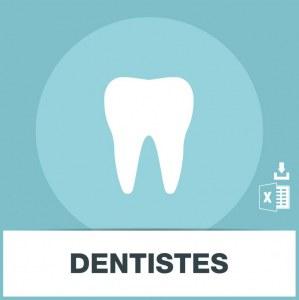 Base des adresses e-mails des dentistes