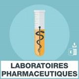 Adresses emails laboratoires pharmaceutiques