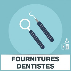 E-mails matériel fourniture dentiste