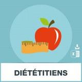 Base d'adresses emails de diététiciens