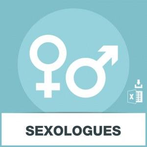 Base adresse emails des sexologues