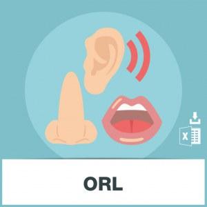 E-mails ORL Oto-rhino-laryngologistes