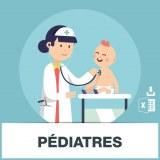 Base adresse emails des pédiatres