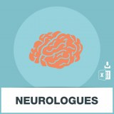 Base adresses emails neurologues