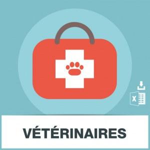 Base d'adresses emails de vétérinaires