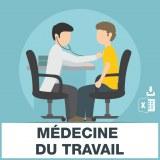 E-mails médecine du travail