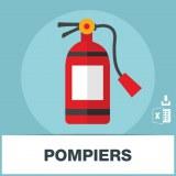 Base d'adresses emails de pompiers