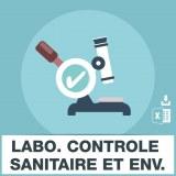 Emails laboratoire controle sanitaire et environnement