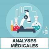 Emails laboratoires analyses medicales