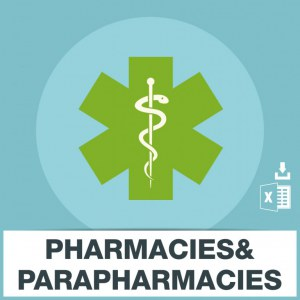 Emails pharmacies et parapharmacies