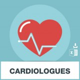 Base adresses emails cardiologues