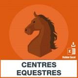 Adresses emails centres equestres