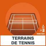Emails construction terrains tennis