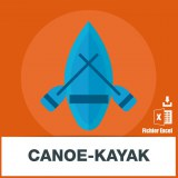 Base adresse e-mail canoe-kayak