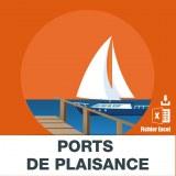 E-mails des ports de plaisance
