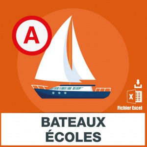 Adresses emails bateaux-écoles