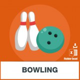 Adresses emails bowling