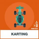 Base adresse emails des karting