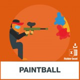 Base adresse emails paintball