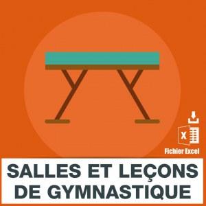 Adresses e-mails gymnastique