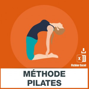 Base adresses e-mails méthode pilates