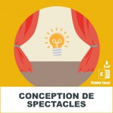 Emails conception de spectacles