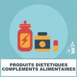 E-mails produits diététiques compléments alimentaires