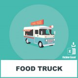 Adresses e-mails food trucks
