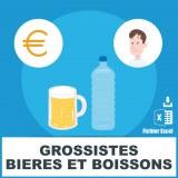 Emials grossistes en bières et boissons