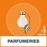 Base d'adresses emails de parfumeries