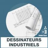 Emails des dessinateurs industriels