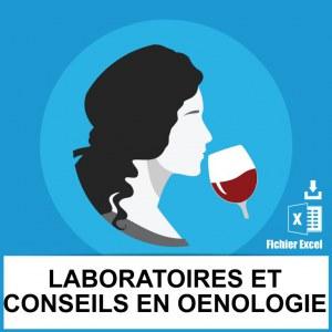 Emails laboratoires conseils oenologie