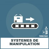 Emails systèmes de manipulation