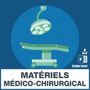 E-mails matériel médico-chirurgical