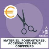 Emails matériel fournitures coiffeurs